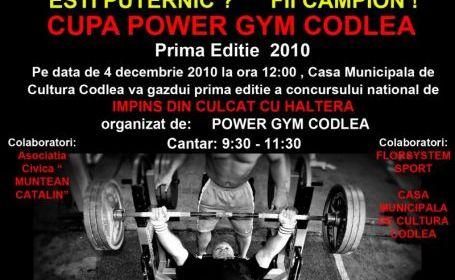 Cupa Power Gym Codlea