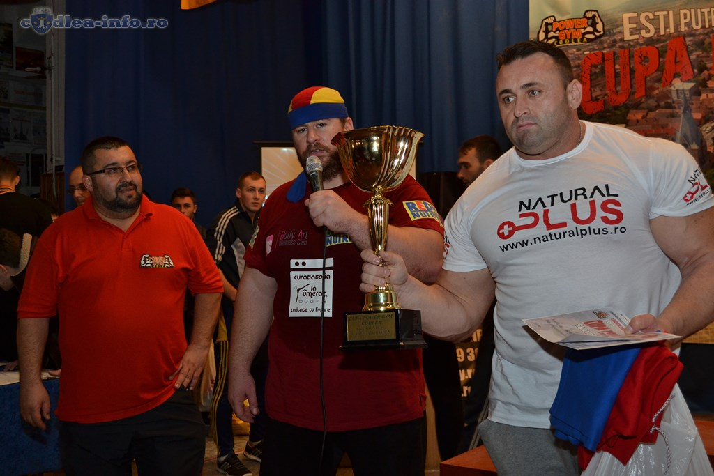 Castigatorii Concursului National de Skandenberg Power Gym Codlea