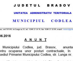 anunt-locuri-noi-primarie-codlea