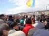 2Protest blocare DN1 la Codlea