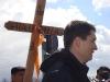 Protest blocare DN1 la Codlea