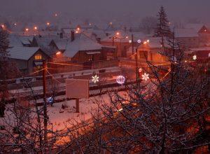 Iarna la Codlea