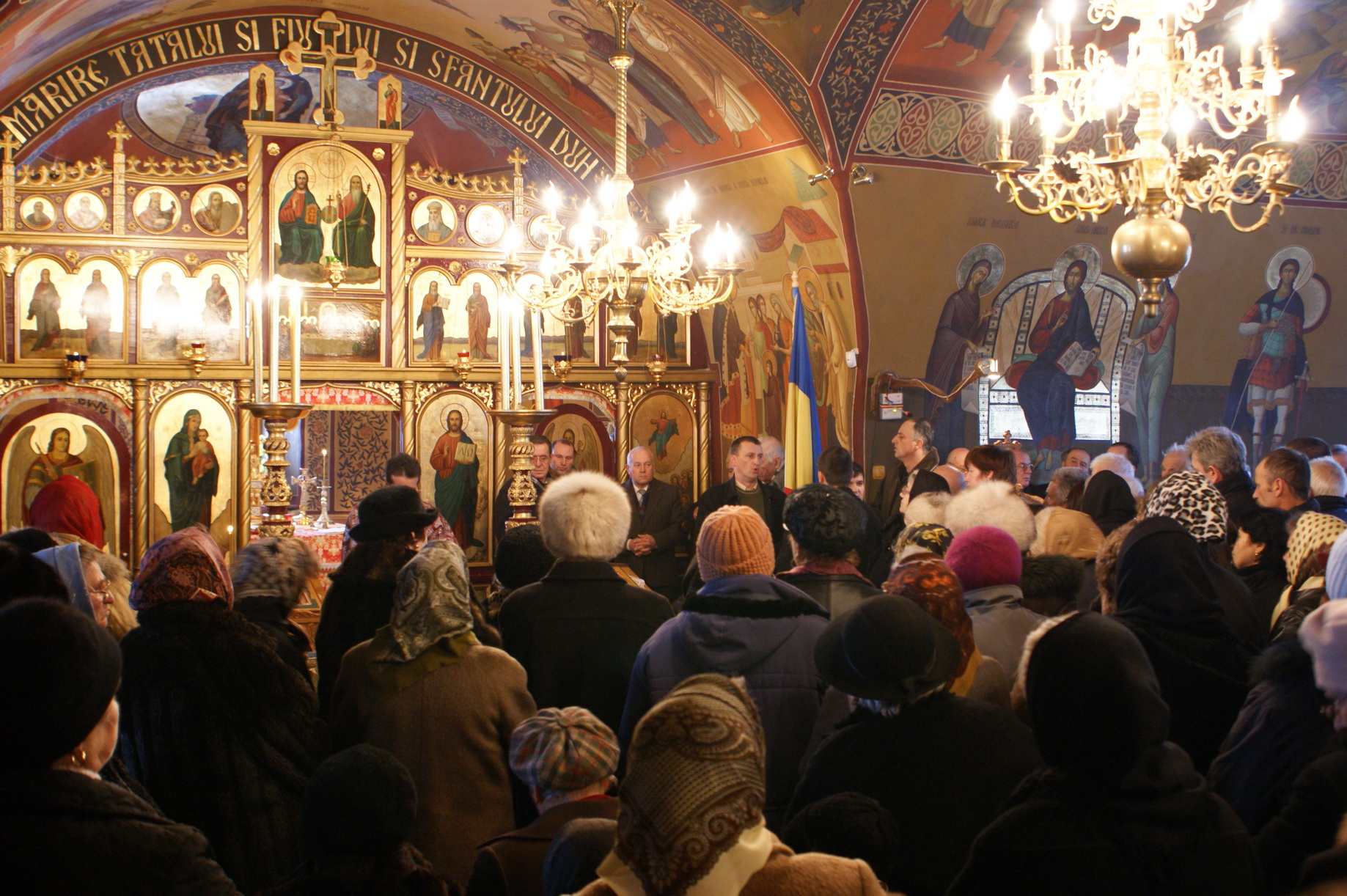 Sarbatorirea Sf. Ioan la Biserica Inaltarea Domnului