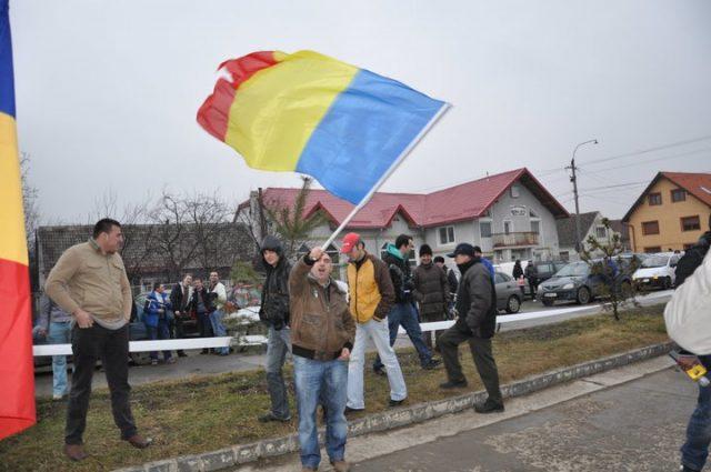 Protest impotriva afacerii cu parcarile de la Codlea