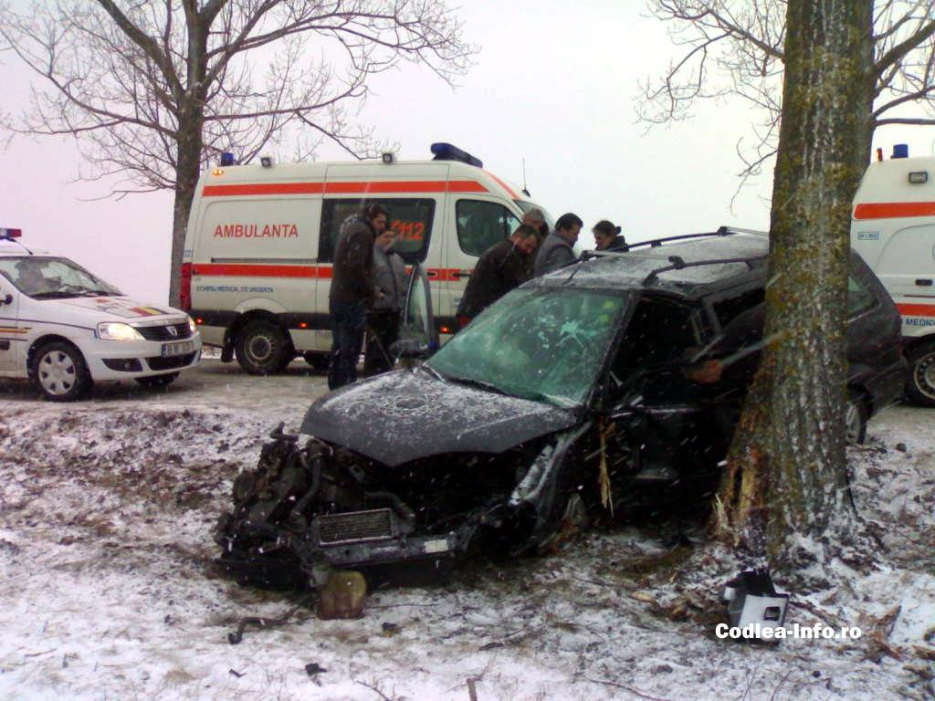Accident rutier la Codlea