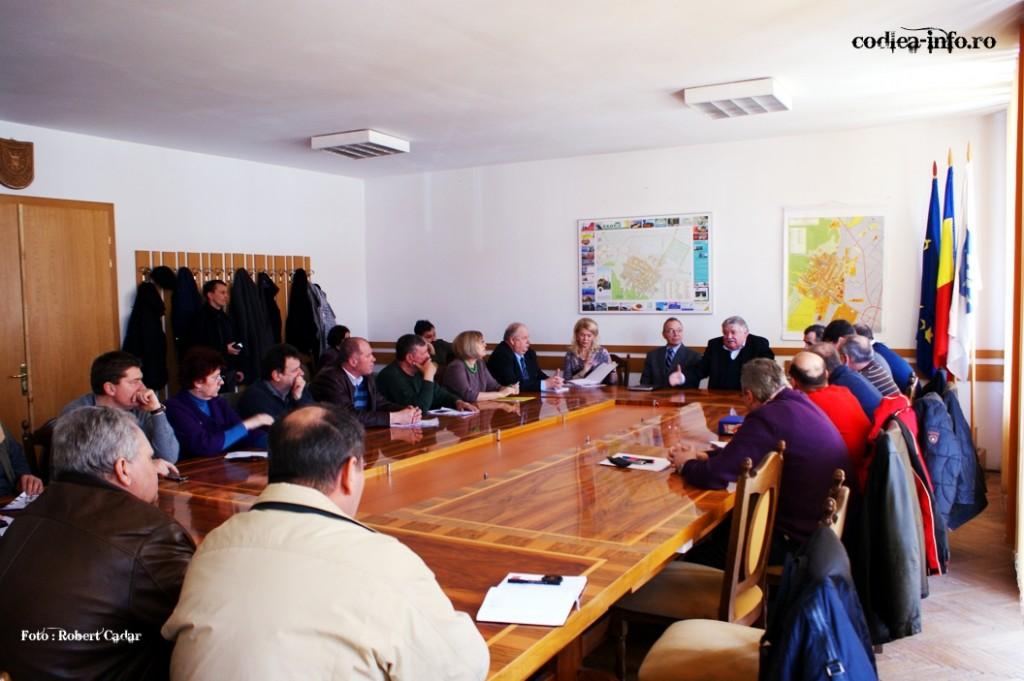 Sedinta privind situatia Spitalului din Codlea