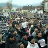 Protest Spitalul Codlea [codlea-info.ro]