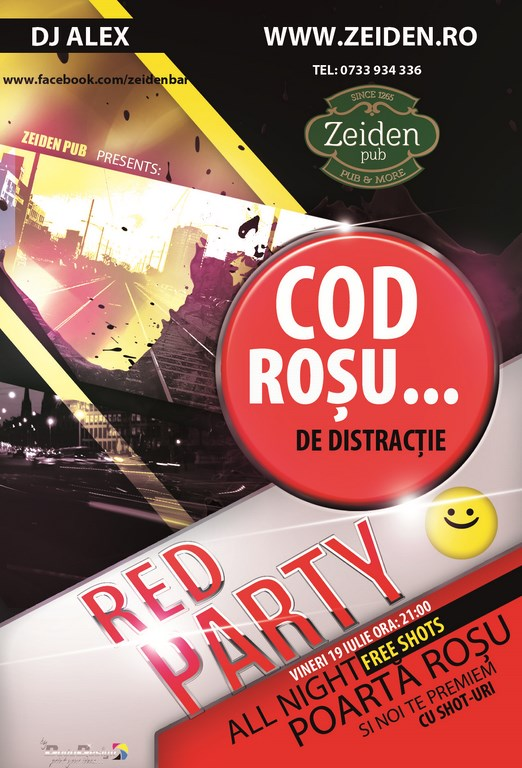 Cod rosu - Red PArty