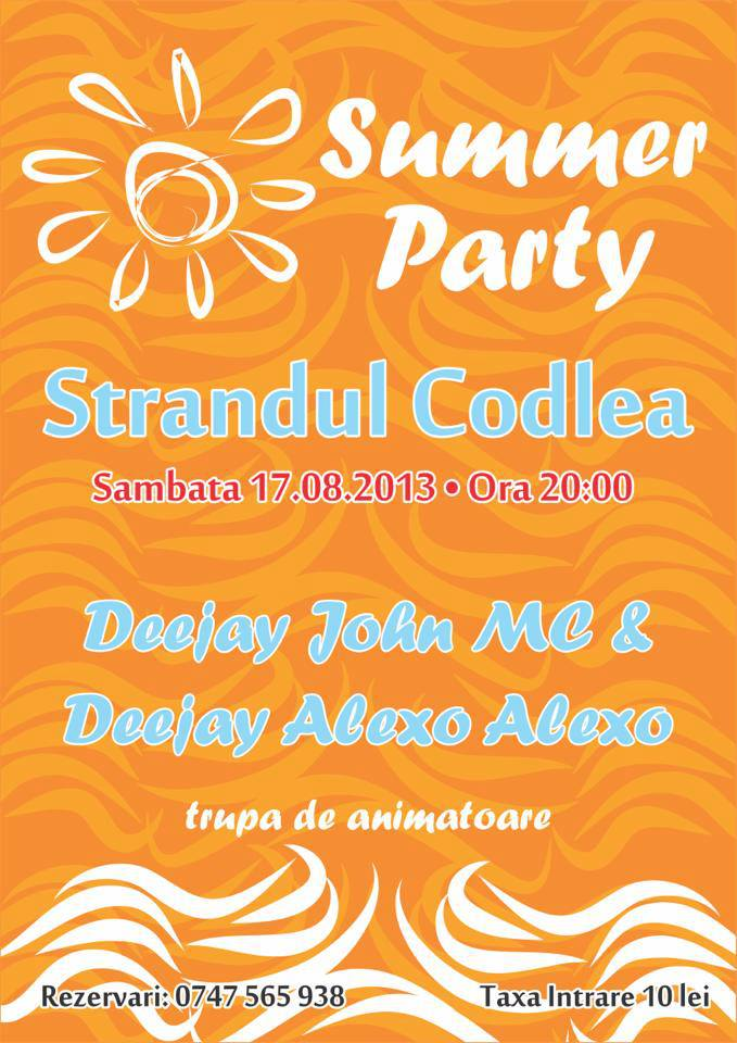 summer party straand