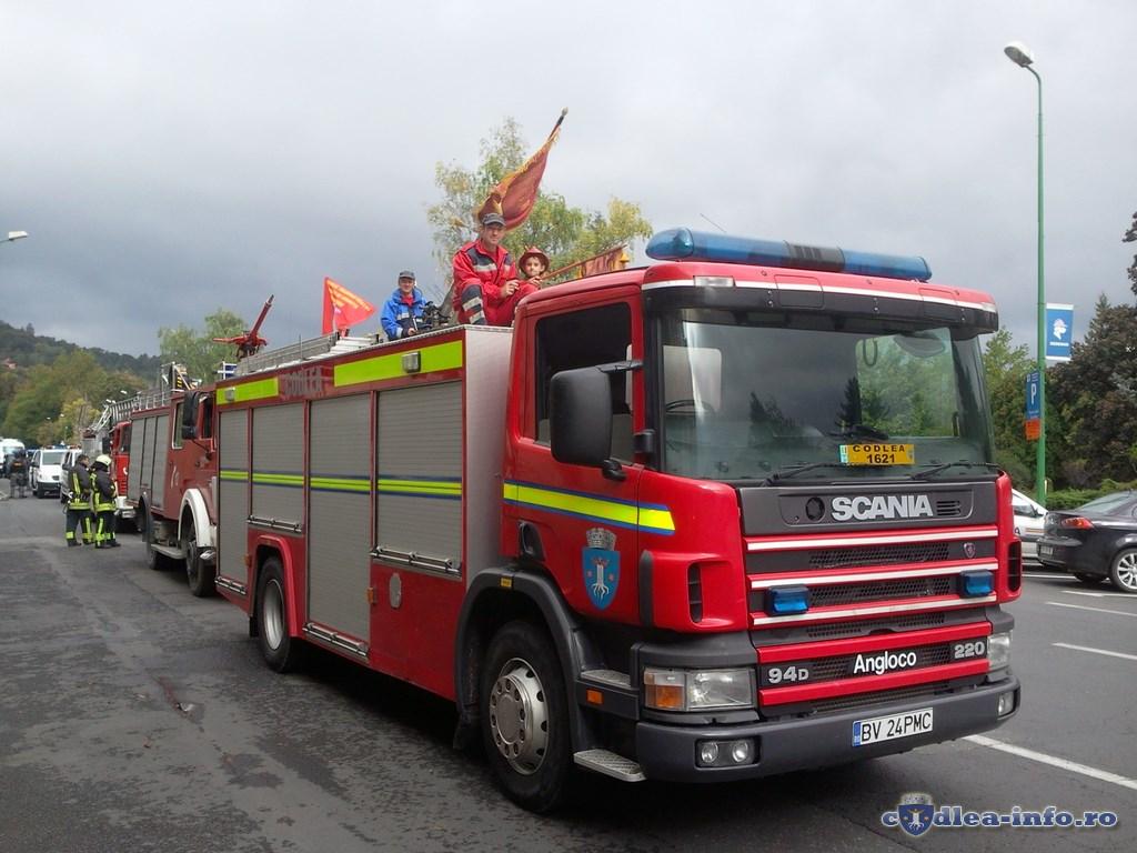 SVSU Codlea - Ziua Pompierilor