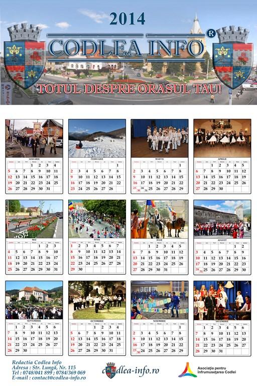 Calendar Codlea Info 2014