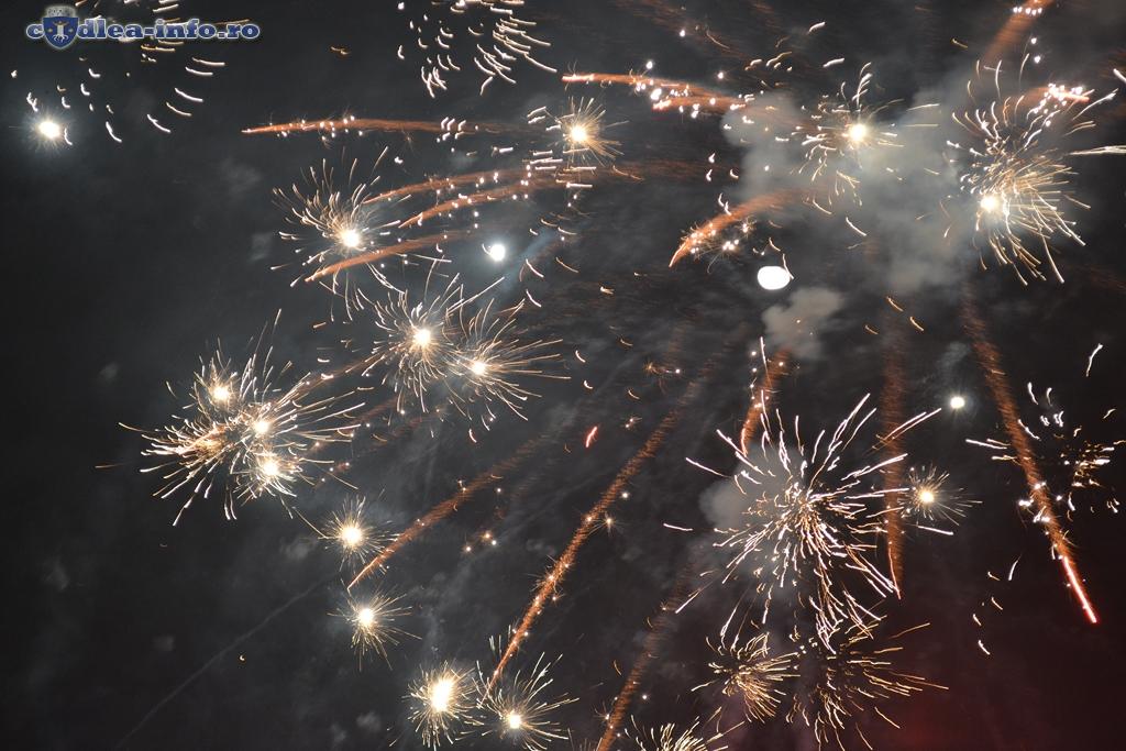 foc artificii codlea