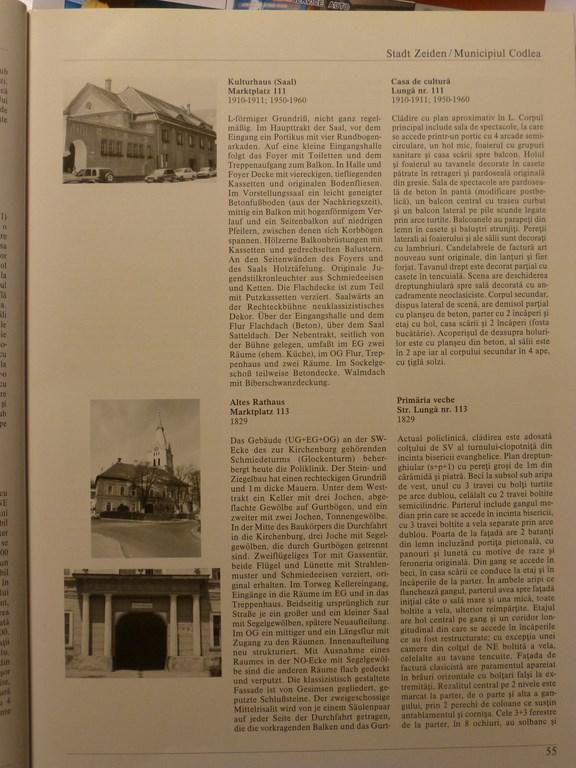 Document atestare vechea primarie codlea
