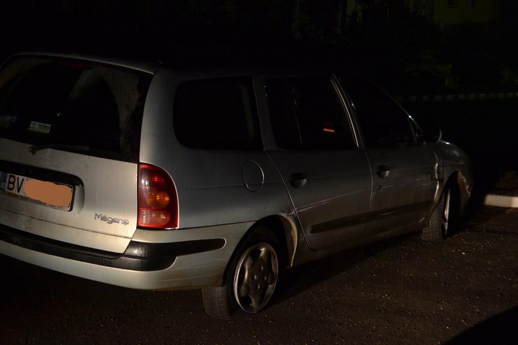 Renault Megan accident Codlea1