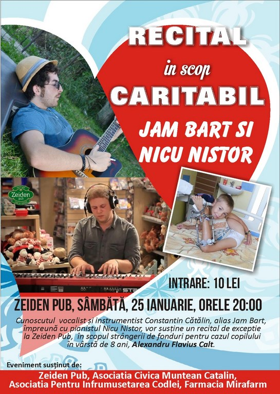 recital caritabil Jam Bart si Nicu Nistor