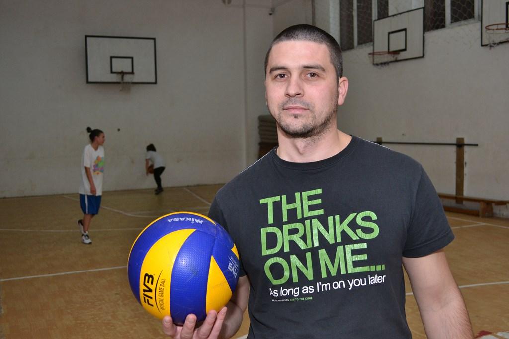 Andrei George antrenor CSM volei