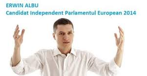 erwin albu candidat parlamentul european