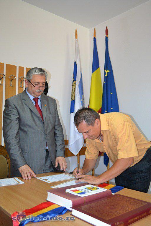 Mihai Sumanariu depunere juramant consilier
