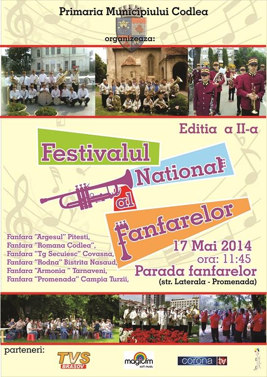 Festivalul Fanfarelor Codlea 2014