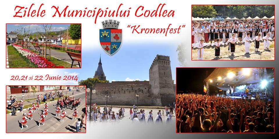 cover zilele codlei kronenfest 2014