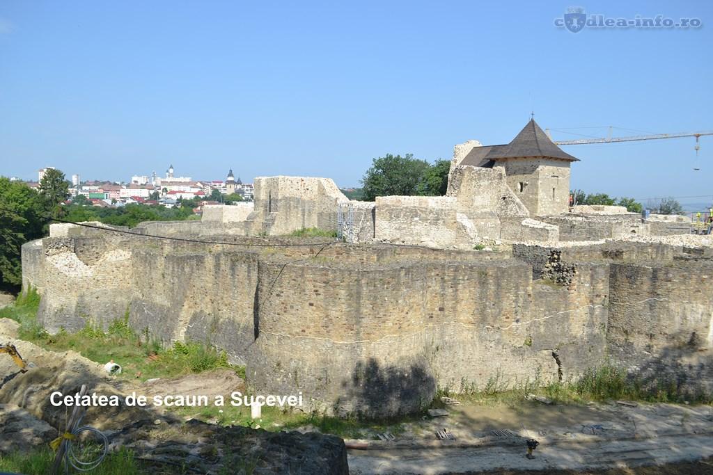 Cetatea de scaun a Sucevei - sa redescoperim Romania
