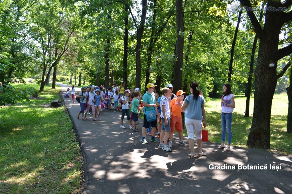 Gradina Botanica Iasi -sa redescoperim Romania