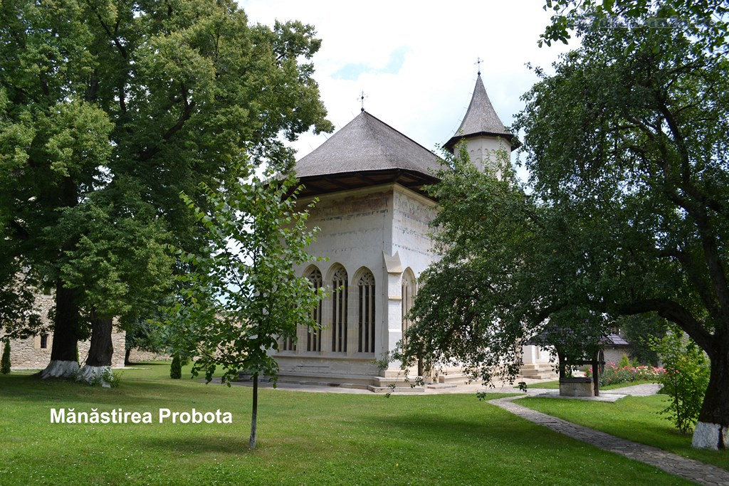 Manastirea Probota - sa redescoperim Romania