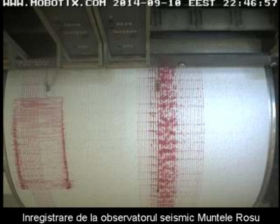 Cutremur in Vrancea 10 sepetmbrie 2014