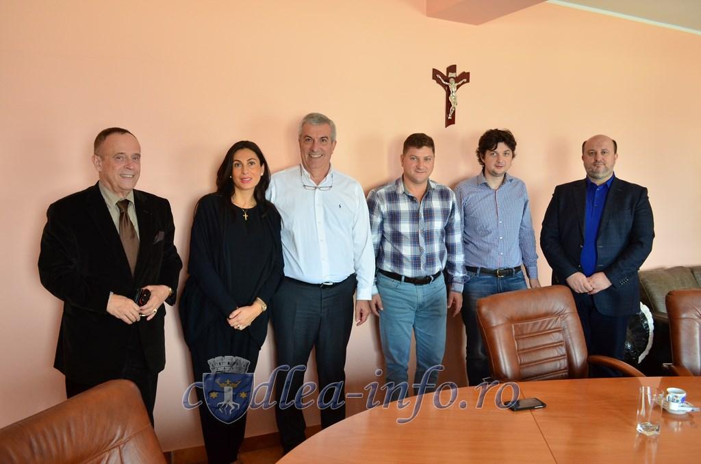 Calin Popescu Tariceanu - Vizita la Penes