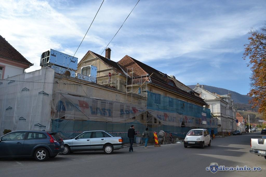 restaurare casa de cultura codlea