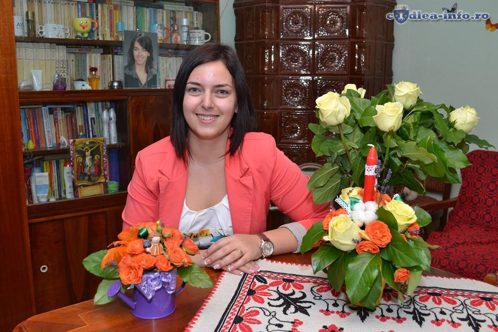 Dana Bruma, florist
