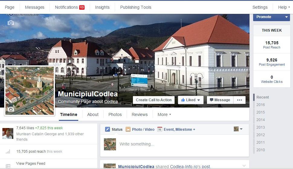 Municipiul Codlea - Pagina oficiala