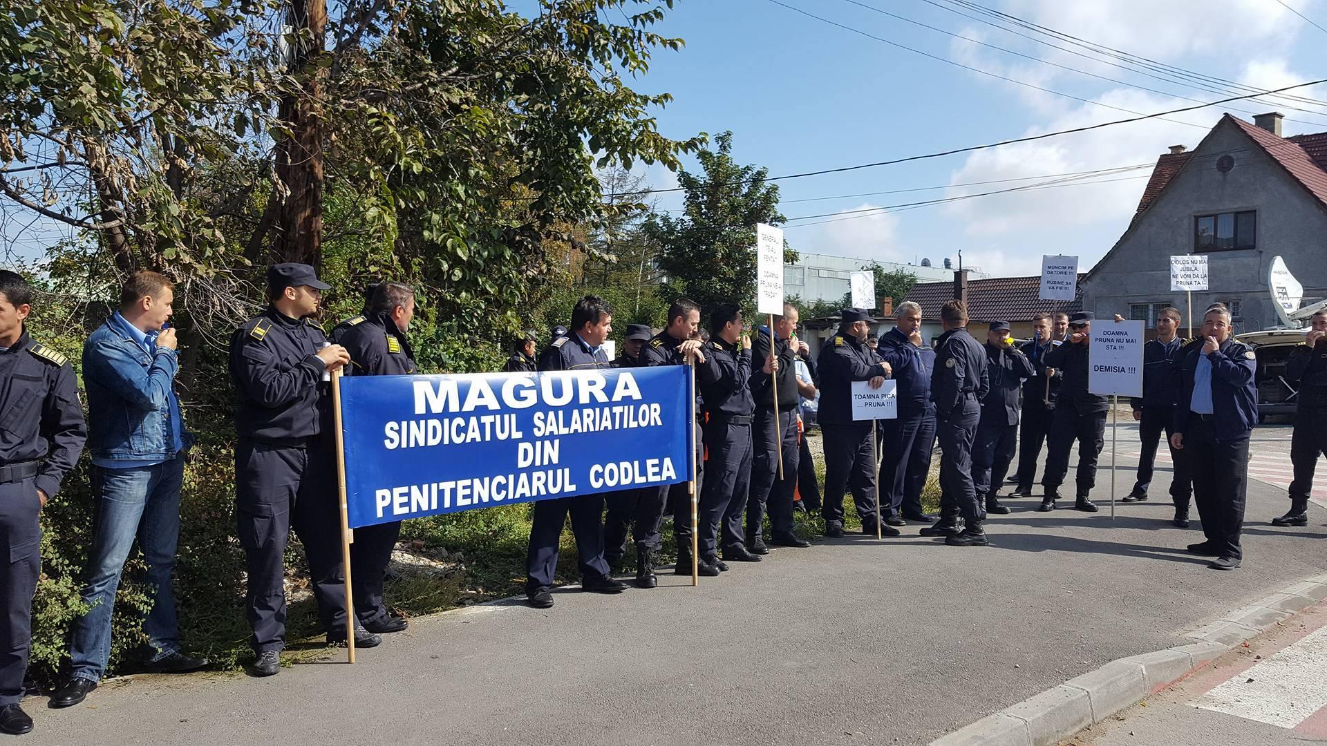 penitenciarul-codlea-protest-sindicat